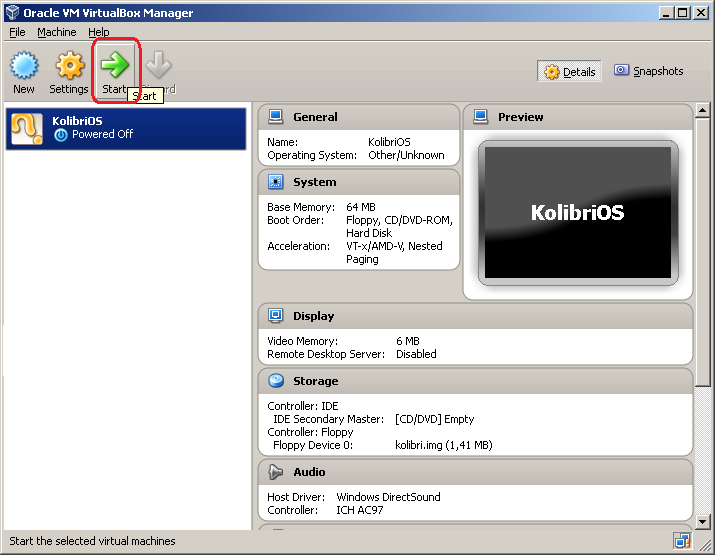 kolibriOS virtualBox.png